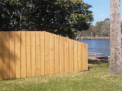 Board-on-Board Fencing